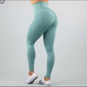 Alphalete XS Jade Green Revival Leggings